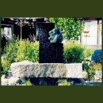 Heaven and Earth patio water features water sculpture design stone fountains