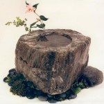 Rustic Refined stone water art water sculpture design small water features