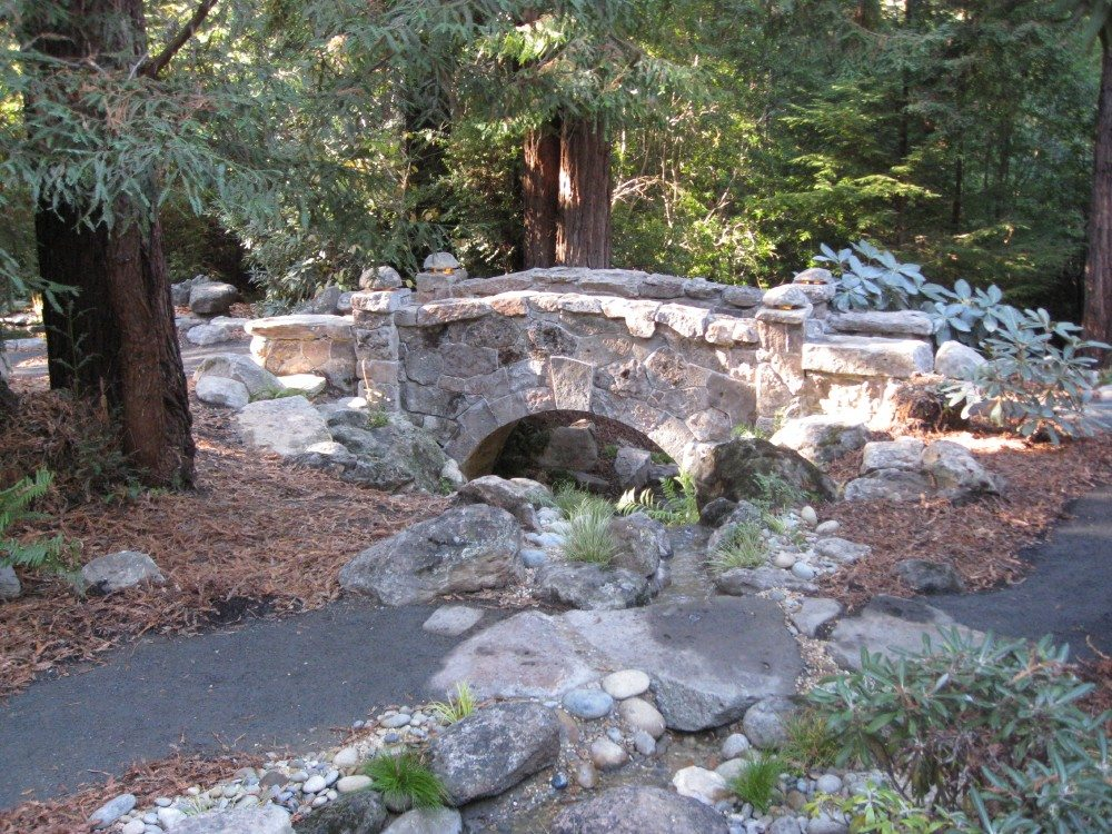 Stone bridge mendocino